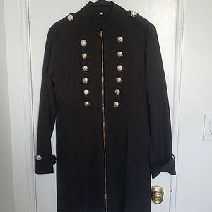Jackets & Blazers - Military goth style zip up jacket